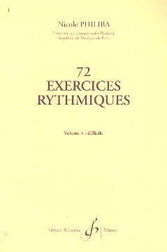 72 Exercices rythmiques - Volume 3 - laflutedepan.com