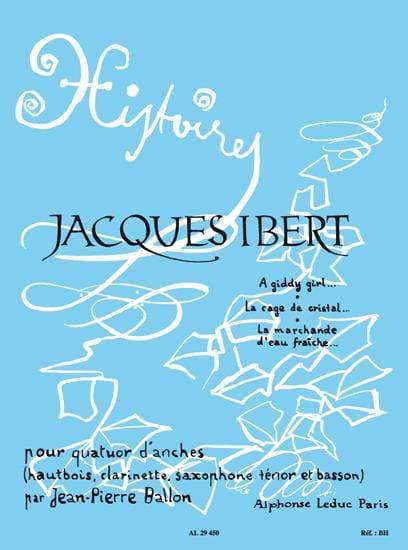 Histoires - Volume 1 -Quatuor d'anches - Cond. + parties - laflutedepan.com