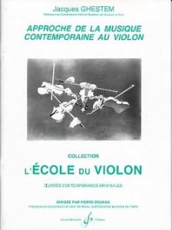 Approche de la musique contemporaine Jacques Ghestem laflutedepan