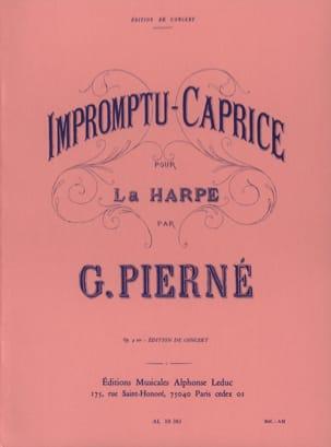 Impromptu-Caprice Opus 9 Ter PIERNE Partition Harpe - laflutedepan