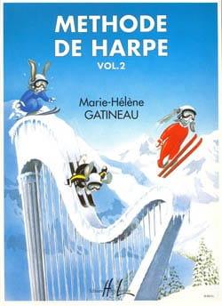 Méthode de harpe - Volume 2 Marie-Hélène Gatineau laflutedepan
