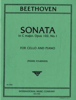 Sonata in C Major op. 102 n° 1 BEETHOVEN Partition laflutedepan