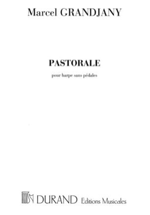 Pastorale Marcel Grandjany Partition Harpe - laflutedepan