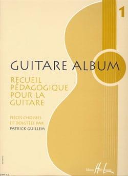 Guitare Album Volume 1 Patrick Guillem Partition laflutedepan