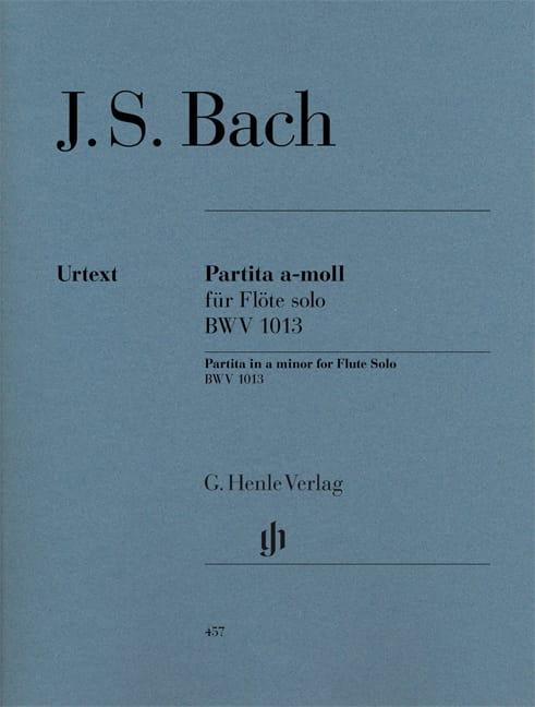Partita en la mineur BWV 1013 pour flûte seule - laflutedepan.com