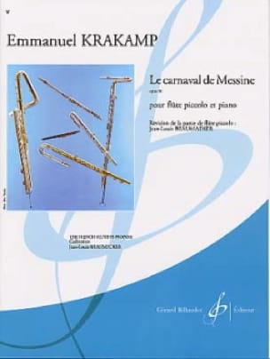 Le carnaval de Messine op. 91 - Emanuele Krakamp - laflutedepan.com