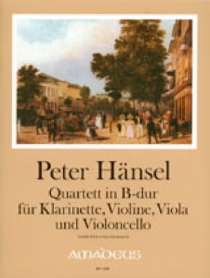 Quartett B-Dur op. 19 -Klarinette Violine Viola Cello -Partitur + Stimmen - laflutedepan.com