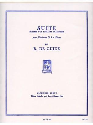 Suite - Richard de Guide - Partition - Clarinette - laflutedepan.com