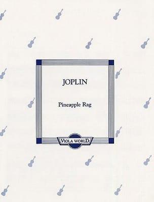 Pineapple Rag JOPLIN Partition Alto - laflutedepan