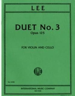 Duet n° 3 op. 125 Sebastian Lee Partition 0 - laflutedepan