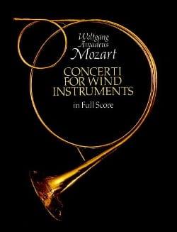 Concerti For Wind Instruments - Full Score MOZART laflutedepan