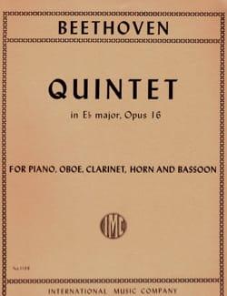 Quintette en Mib Maj. - Piano, Hautbois, Clarinette, Cor et Basson laflutedepan
