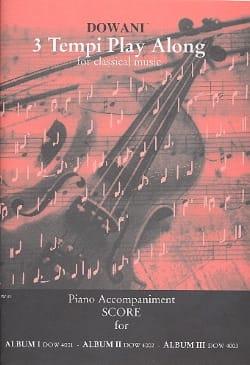3 Tempi play along for classical music/ Piano Accomp. laflutedepan