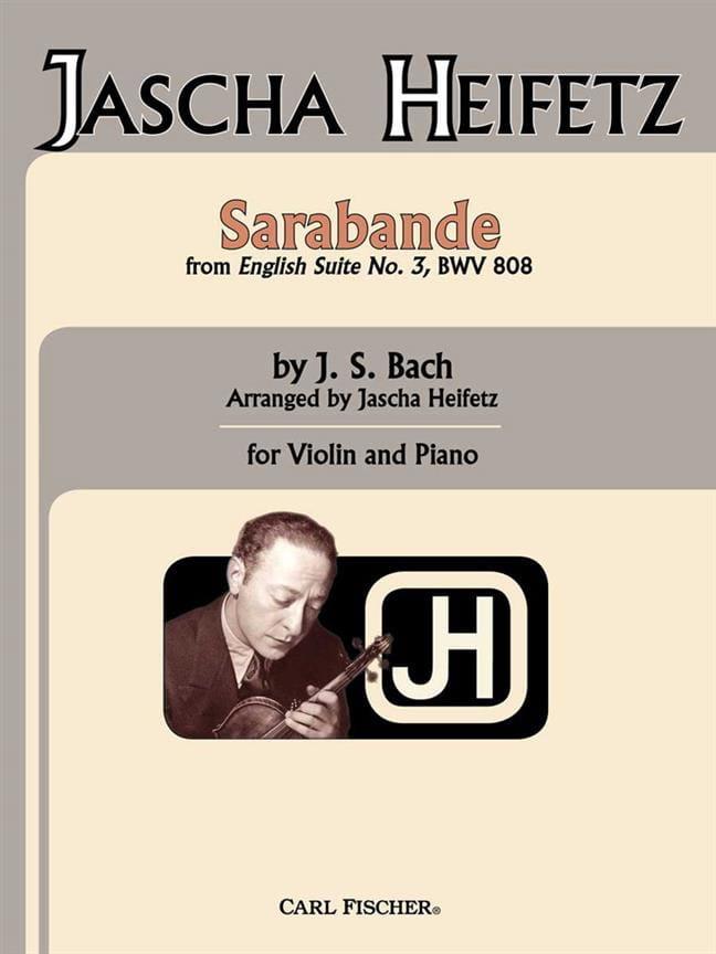 Sarabande - Bach Johann Sebastian / Heifetz Jascha - laflutedepan.com