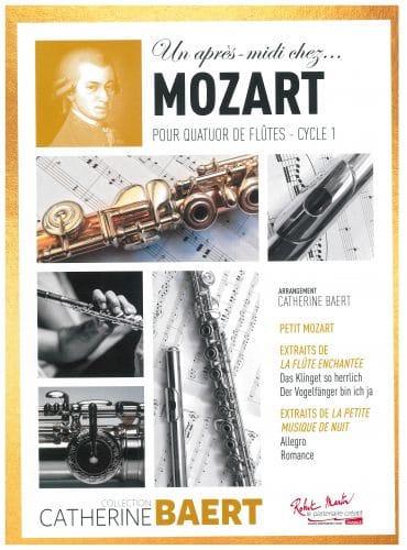 Un après-midi chez.. Mozart - MOZART - Partition - laflutedepan.com