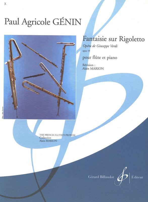 Fantaisie sur Rigoletto de Verdi op. 19 - laflutedepan.com
