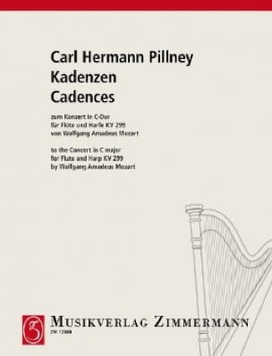 Kadenzen Zum Konzert Von W A Mozart C-Dur - Flûte et Harpe - laflutedepan.com