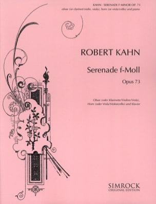 Serenade f-moll op. 73 - Oboe Horn Klavier Robert Kahn laflutedepan