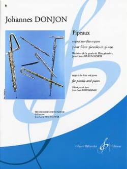 Pipeaux - Piccolo Johannes Donjon Partition laflutedepan