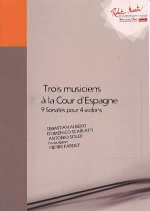 Trois Musiciens à la Cour d' Espagne laflutedepan