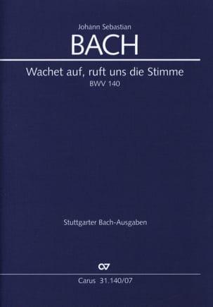 Wachet Auf, Ruft Uns Die Stimme - BWV 140 - BACH - laflutedepan.com
