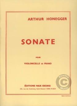 Sonate - Violoncelle HONEGGER Partition Violoncelle - laflutedepan