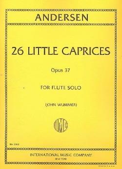 26 Little caprices op. 37 ANDERSEN Partition laflutedepan