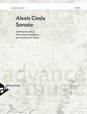 Sonate - Clarinette et piano Alexis Ciesla Partition laflutedepan