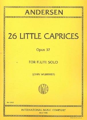 26 Little caprices op. 37 - ANDERSEN - Partition - laflutedepan.com