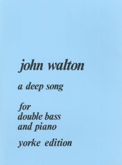 A Deep Song John Walton Partition Contrebasse - laflutedepan