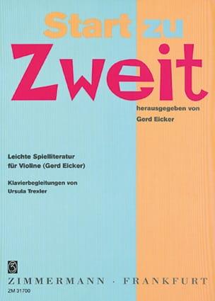 Start zu Zweit - Violon - laflutedepan.com