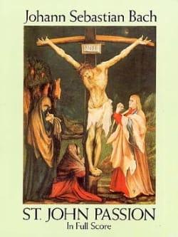 St. John Passion BWV 245 - Score BACH Partition laflutedepan