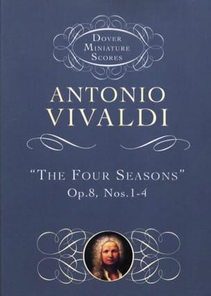 VIVALDI - The Four Seasons Op. 8 N ° 1-4 - Partition - di-arezzo.co.uk