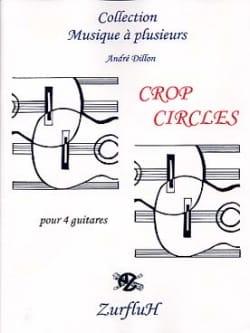 Crop Circles André Dillon Partition Guitare - laflutedepan