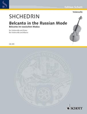 Belcanto In The Russian Mode - Rodion Shchedrin - laflutedepan.com