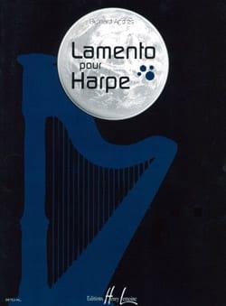 Lamento - Bernard Andres - Partition - Harpe - laflutedepan.com