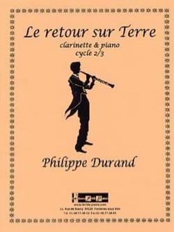 Le retour sur Terre Philippe Durand Partition laflutedepan