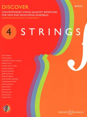 4 Strings - Discover - Book 1 Liz Partridge Partition laflutedepan