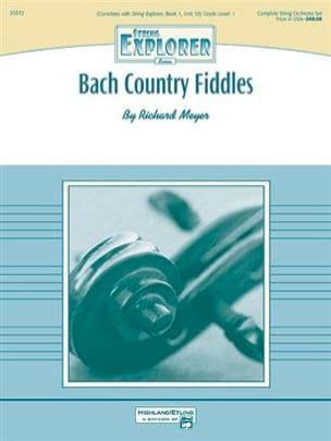 Bach Country Fiddles Richard Meyer Partition Sextuors - laflutedepan