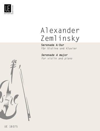 Serenade A-Dur für Violine und Klavier - laflutedepan.com