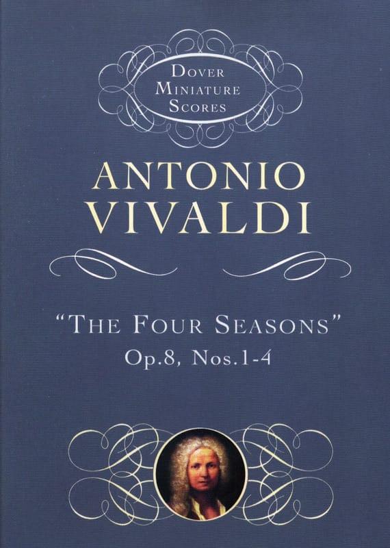 Les Quatre Saisons Op. 8 N° 1-4 - VIVALDI - laflutedepan.com