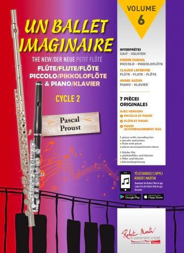 Un Ballet Imaginaire - Pascal Proust - Partition - laflutedepan.com