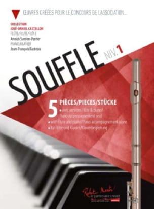 Souffle 1 - Flûte et Piano - Partition - laflutedepan.com