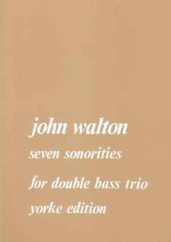 7 Sonorities J. Walton Partition Contrebasse - laflutedepan
