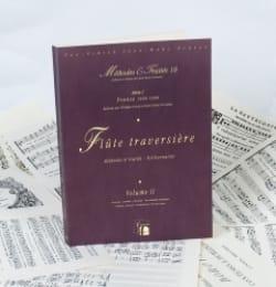 Méthodes et Traités 10 - Volume 2 - Flûte traversière laflutedepan