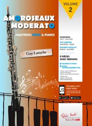 - Amoroseaux Moderato Volume 2 - オーボエとピアノ - Partition - di-arezzo.jp