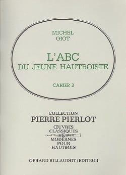 L' ABC du jeune hautboïste - Volume 2 Michel Giot laflutedepan