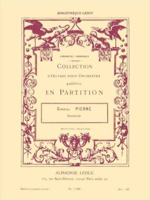 Pastorale op. 14 n° 1 -Conducteur + parties PIERNE laflutedepan