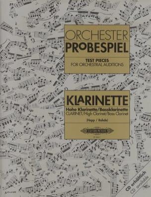 Traits d'Orchestre pour Clarinette Partition laflutedepan