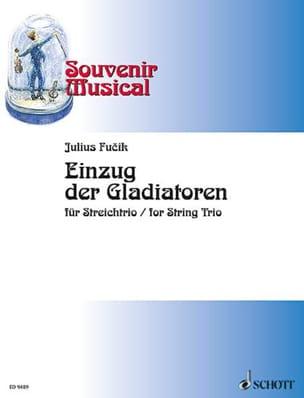Einzug der Gladiatoren - Streichtrio - Score + Parts laflutedepan